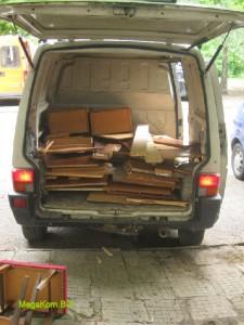 Товарене мебели