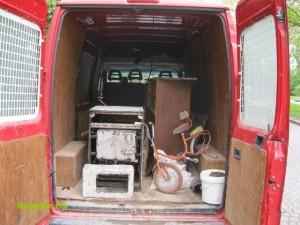 Боклуци мазе извозване